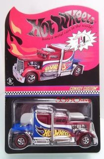 Hot Wheels RLC Red Line Club Convoy Custom Neo Classic Wheels