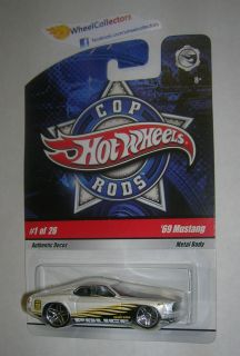 69 Mustang Cop Rods Hot Wheels