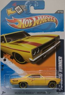 2012 Hot Wheels 70 Road Runner Col 089 Yellow Version