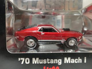 Hot Wheels 70 Mustang Mach 1 Red Hills Classic 1970 Ford