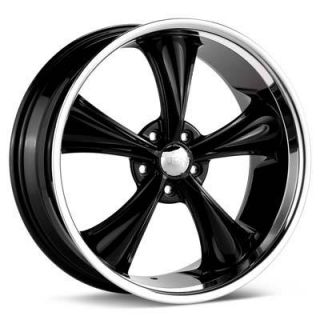 Boss 338 5x4 75 Rims 18 inch Black Wheel Ford Dodge