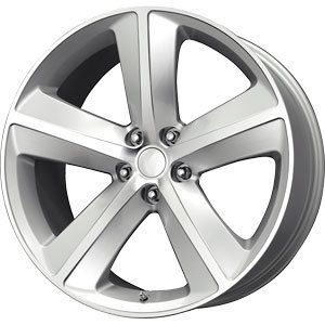 New 20x9 5x115 Replica Challenger Silver Wheels Rims