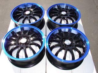 Effect Wheels Miata Lancer Mr2 Accord Jetta Scion XA XB 4 Lug Rims