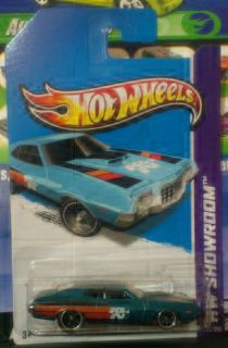 HOT WHEELS SUPER SECRET TREASURE HUNT 72 FORD GRAN TORINO SPORT ON LC