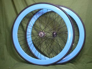 Bicycle Wheels Single Speed Fixed Gear Track wheelset Cog Freewheel