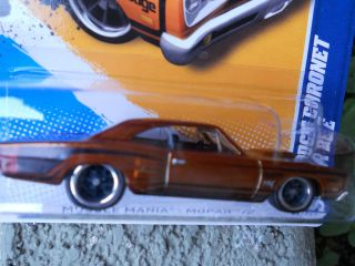 2012 Hot Wheels Treasure Hunt 69 Dodge Coronet Super Bee Real Riders