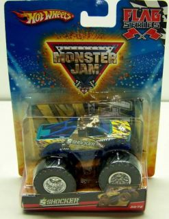 Hot Wheels Shocker Monster Jam 59 75 Flag Series