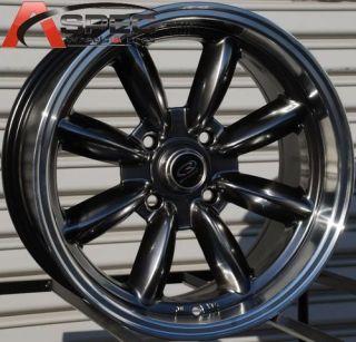 16x8 Rota RB Wheels 4x114 3 Rim 10 AE86 Datsun 240 260