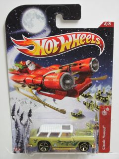 Hot Wheels 2012 Holiday Rods Classic Nomad 5 8 Santa