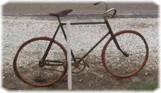 Mens 26 Bicycle Vintage Wood Rim Wheels Aerial 1900s Bilke RARE Free