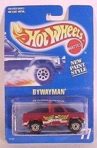 Hot Wheels Blue Card Collector 77 Bywayman