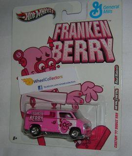 77 Dodge Van Franken Berry Nostalgia General Mills Hot Wheels 2011