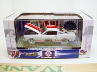M2 Machines 66 Shelby Mustang GT350 White w White Wheels Promo