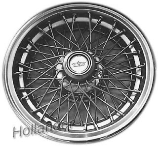 82 83 84 85 Caprice Wheel Cover Wire Type Metal