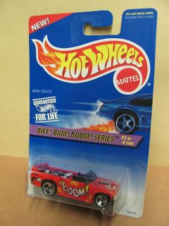 Hot Wheels 541 Biff Bam Boom Mini Truck