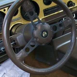 1981 Dark Brown Steering Wheel Trans Am Firebird. 77 78 79 80 81 Turbo