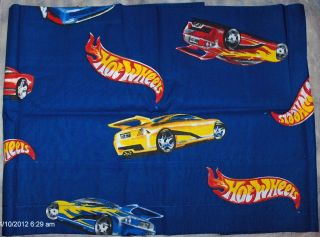 MATTEL HOT WHEELS RACE CAR BEDROOM ACCESSORIES WINDOW VALANCE 86 x 16