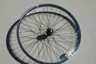 Wheel Master 26 x 1 75 Rear Wheel Rim 36h 5 6 7 Speed Black Bike
