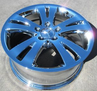Mercedes C300 C350 E350 E550 Sedan Chrome Wheels Rims Set 4