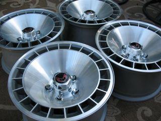 Trans Am 10th Anniversary15x8 WS6 Turbo Wheels Rims Caps Lugs Last Set