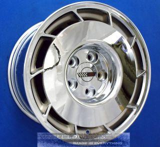 Corvette C4 16x8 5 Chrome Wheels Rims 16 inch 84 87