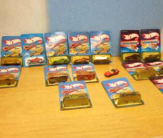Lot 14 Hot Wheels 80s Diecast Metal Cars by Mattel