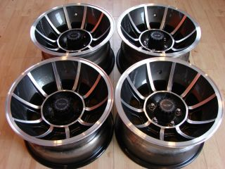 American Racing Vector Wheels Vintage Rims 5x5 Chevy Van Truck GM Ford