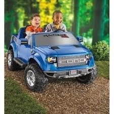 FISHER PRICE POWER WHEELS FORD F 150 RAPTOR 12 Volt Battery Powered