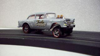 Redline Hotwheels Customized 55 Chevy Belair Gasser Very Cool