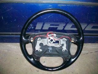 90 92 Camaro IROC Z Steering Wheel 91 TPI Z28 RS Air Bag Style