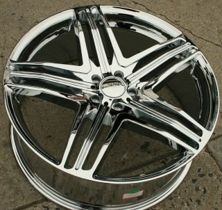 Menzari Z12 20 Chrome Rims Wheels Acura MDX RDX 20 x 8 5 5H 35