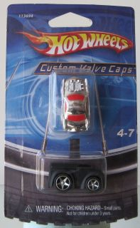 Hot Wheels Bicycle Custom Valve Stem Caps