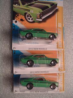 2012 Hot Wheels New Model Chevrolet SS Green 3