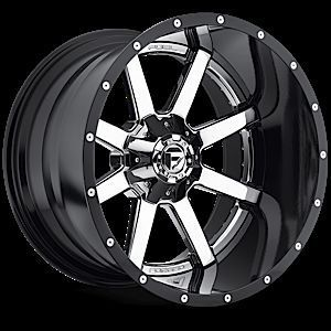 Maverick D260 Two Piece Chrome Truck Wheels Falken Tires