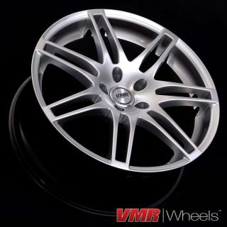 VMR 19 inch V708 Wheels Hyper Silver Volkswagen VW GTI Passat Jetta