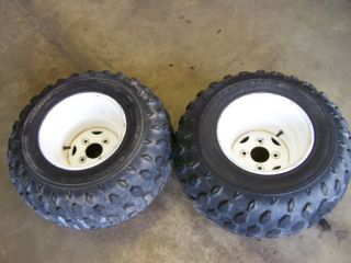 400 4x4 Back Rear Rim Wheels Tires Rims Wheels 95 96 97 98 99