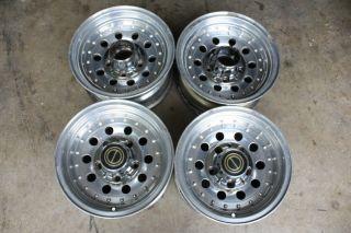 Bronco 15 Aluminum Wheels, Set of 4, 1987 1988 1989 1990 1991 1992 96
