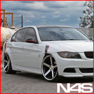 E90 M3 Stance SC 5IVE Machined Concave Staggered Wheels Rims