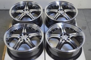 4x100 4 Lug Wheels Ford Focus Civic Integra Yaris CRX Jetta Golf Rims