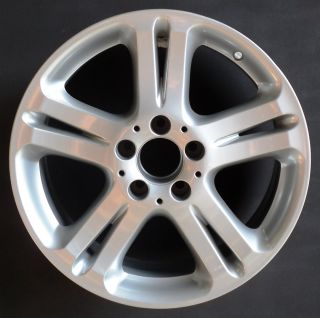 Mercedes E Class 17 5 Double Spoke Factory OEM Alloy Wheel Rim H 65332