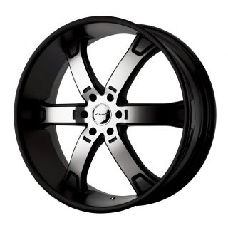 20 inch KMC Black Wheels Rims 6x5 5 6x139 7 Chevy K1500 Suburban Yukon