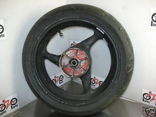 2001 Honda CBR 600 F4i Rear Wheel Rim Tire