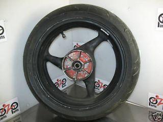 2001 Honda CBR 600 F4i Rear Wheel Rim Tire