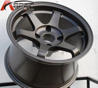 Varrstoen V1 Bronze 15x8 4x100 0 JDM Old Scholl Rim Wheel
