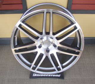 Wheels Audi Q7 22x9 AWD Porsche Cayenne VW Touareg Model 7053 Rims