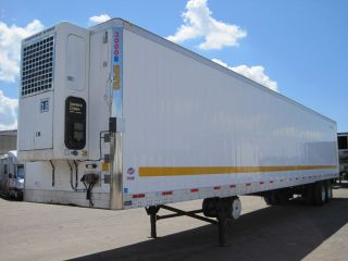 Utility 53 x 102 Refrigerated Reefer Trailer Thermo King Alum Wheels