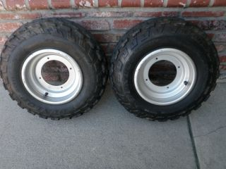 LT 230 250R 500R Quadrunner Quadzilla OEM Tires and Wheels 4x166 Lug