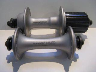 Shimano 105 SC Hyperglide Hub Set 32h 8 Speed Bike Bicycle Wheel