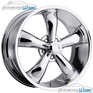 Vision Legend 5 5x127 5x5 12mm Chrome Wheels Rims inch 20