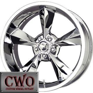 20 Chrome MB Old School Wheels Rims 5x115 5 Lug CTS STS DTS GRAND PRIX
